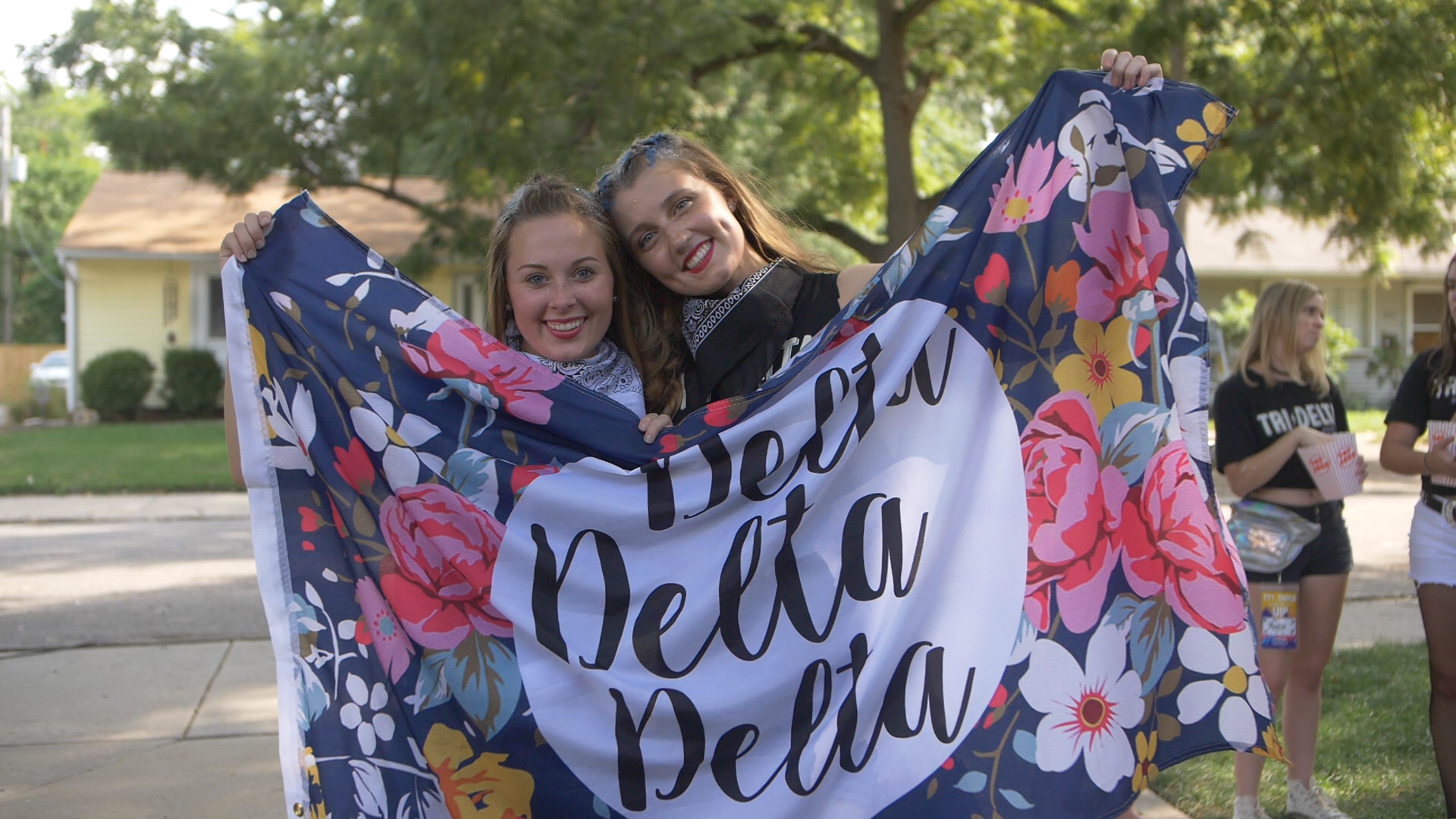 Tri-Delta Bid Day Video